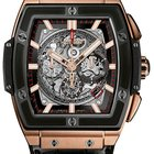 Hublot Spirit of Big Bang 18K King Gold Leather Men's Watch