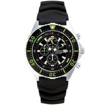 Chris Benz Uhr Taucheruhr Depthmeter Chronograph CB-C300-G-KBS