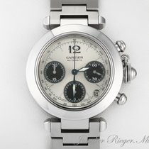 Cartier Pasha Stahl Medium Chronograph