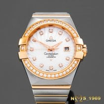 Omega Constellation Co-Axial 31mm 18K Rose Gold&S.Steel...