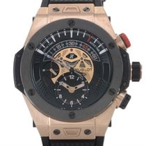 Hublot Big Bang Unico Bi-Retrograde Chrono King Gold Ceramic...