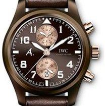 IWC Pilot Chronograph The Last Flight in Brown Ceramic