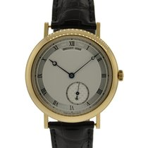 Breguet Classique 18kt Yellow Gold With Silvered Dial Ref: 5140ba