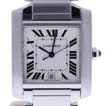 Cartier Tank  2302 31 Millimeters Silver Dial