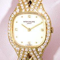 "Patek Philippe Lady's 18K Yellow Gold  Diamond ""La..."