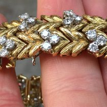 Ebel Bracciale Oro Gold 18 kt Lady Diamanti Diamonds Manuale