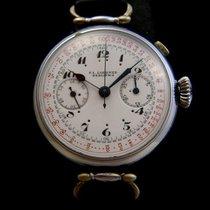 F.L. Loebner Berlin Mono pusher Mechanical chronograph 30's