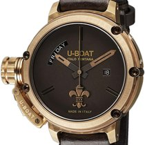 U-Boat CHIMERA DAY-DATE BRONZE LIMITED - 100 % NEW - FREE...