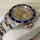 Ρολεξ (Rolex) Oyster Submariner Gold Steel Serti Dial 40mm...