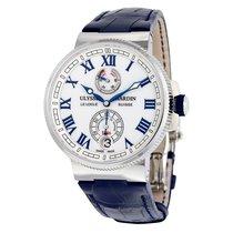 Ulysse Nardin Marine Chronometer White Dial Automatic Men'...