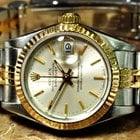 Rolex Lady Datejust with Box and papers 18k Gold / Steel