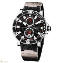 Ulysse Nardin Maxi Marine Diver Titanium Stainless Steel Black...