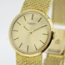 IWC Vintage Ladies solid 18K Yellow Gold Watch Cal. 412 from...