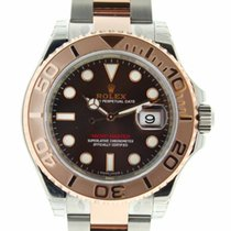 Rolex New with Box 116621 Yacht Master 40 Steel & 18k Rose...