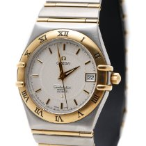 Omega Constellation Perpetual Calendar Yellow Gold on Steel