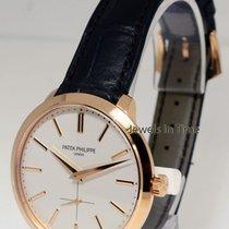Patek Philippe 5123 Calatrava 18k Rose Gold Mens Watch &...