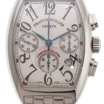 Franck Muller Mens Automatic Chronograph Stainless Steel Watch