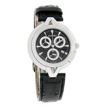 Valentino V-VALENTINO Series Mens Black Swiss Chronograph...