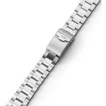 Fortis Steel Bracelet With End Pieces Cosmonaut Bicolor...