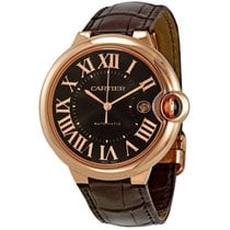 Cartier Ballon Bleu Brown Dial 18kt Rose Gold Case Automatic...
