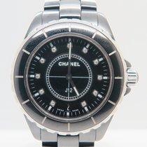 Chanel J12 Factory Diamond Dial Ref. H2124 (Chanel Box&Pap...