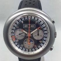 Jules Jürgensen Triple Date Moonphase UFO chronograph NOS