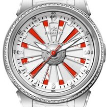 Perrelet Helvetia Turbine Automatic Red and White Dial White...