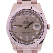 Rolex Day-Date II Pink Diamond