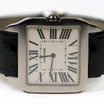 Cartier Santos Dumont 18K Solid White Gold