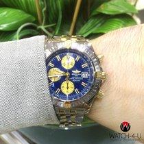 Breitling Chronomat Evolution B13356 18kt Gold/Steel Pilot