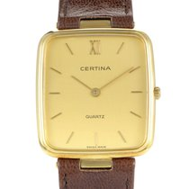Certina Women's Yellow Gold Quartz Watch 5038150