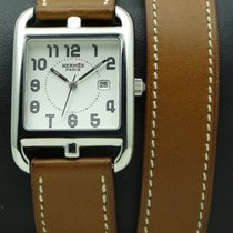 Hermès Cape Cod GM Stainless steel, Double Turn Strap