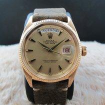 勞力士 (Rolex) DAY-DATE 6611 18K Pink Gold with Claw Markers Dial
