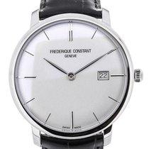 Frederique Constant Slim Line Classics 40 Silver Dial