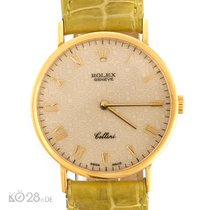 Rolex Cellini 5112 / 8 Gold Handaufzug Manual 32 mm ca. 1991