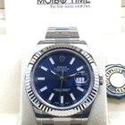 勞力士 (Rolex) Datejust II Blue Index Dial White Gold Bezel 41mm NEW