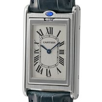 Cartier Tank Collection Tank Basculante Stainless Steel 25mm