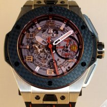 Hublot Big Bang Carbon Titanium UNICO Ferrari - 401.NQ.0123.VR