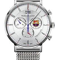 Maurice Lacroix Eliros Chronograph Date, White Dial, Milanaise...