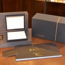 Zenith Double Box W' White Sleeve & Open Papers &...