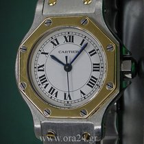Cartier Santos de Cartier Octagon Automatique 18k Gold&Steel