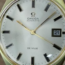 Omega De Ville Gold Plated Automatic Silver Dial Mens Dress...