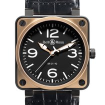 Bell & Ross BR01-92 Automatic 46mm BR01-92 Pink Gold Carbon