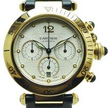 Cartier Pasha Oro Amarillo 18k Automático Chronógrafo