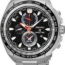 Seiko Prospex SEA Solar World Time SSC487P1 Herrenchronograph...