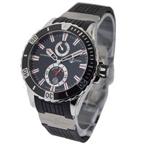 Ulysse Nardin 263-10-3/92 Marine Max Diver 44mm - Steel on...