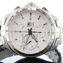 TAG Heuer Link Chronograph Silver Dial Calibre 16 Mens Steel...