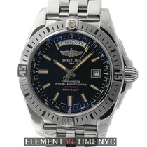 Breitling Galactic Galactic 44 Day-Date Stainless Steel Black...