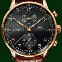 IWC Portuguese Automatic Chronograph 18k Rose Gold Box&Papers