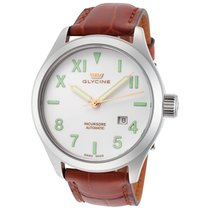 Glycine Incursore White Dial Automatic Men's Watch
